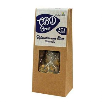 Somnio CBD infusion thé 15 sachets/30g Detox and Cleanse